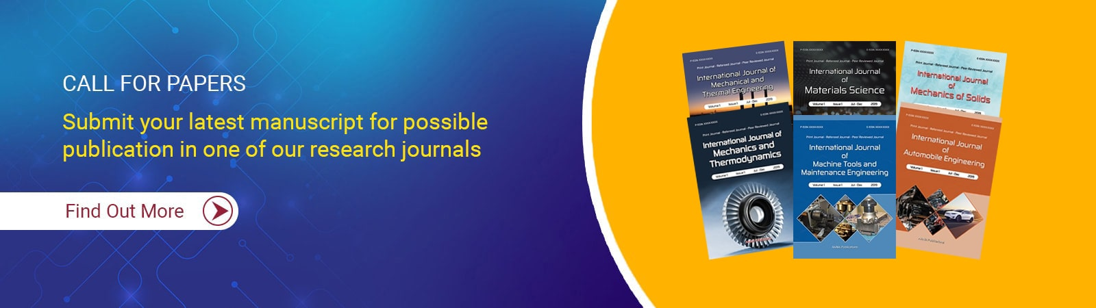 Mechanical Engineering Journals
