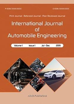 International Journal of Automobile Engineering