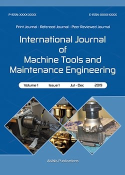 International Journal of Machine Tools and Maintenance Engineering