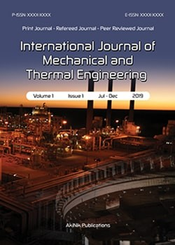 International Journal of Mechanical and Thermal Engineering